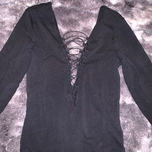 Express long sleeve body suit